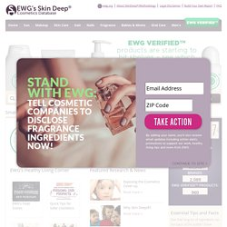 Skin Deep® Cosmetics Database