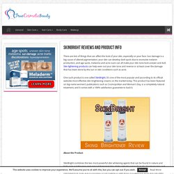 SkinBright Reviews and Product Info