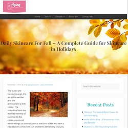 Daily Skincare For Fall - A Complete Guide for Skincare in Holidays