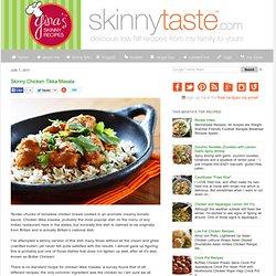 Skinny Chicken Tikka Masala