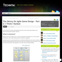 Technitai (Agile Game Design)