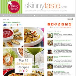 Top 25 Skinny Recipes 2012
