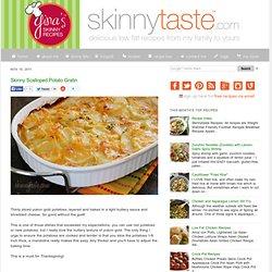 Skinny Scalloped Potato Gratin
