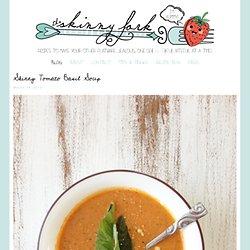 Skinny Tomato Basil Soup — The Skinny Fork