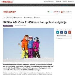 SkiStar AB: Över 71 000 barn har upplevt snöglädje - SkiStar AB