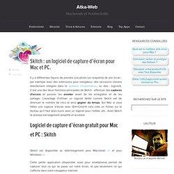 Skitch : un logiciel de capture d'écran pour Mac et PC. » atka-web