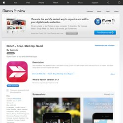 Skitch for iPad for iPad on the iTunes App Store