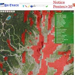 SkiTrack geolocalisation de donnees pour le ski de rando