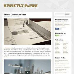Skoda: Curriculum Vitae