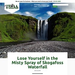 Lose Yourself in the Misty Spray of Skogafoss Waterfall - Tröll Expeditions