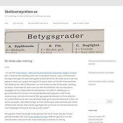 Skolöverstyrelsen.se