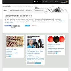 Skolbanken - Unikum