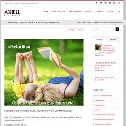 Skolbibliotekariens bästa boktips inför sommarlovet! - Axiell Education