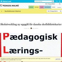 Skolutveckling ny uppgift för danska skolbibliotekarier
