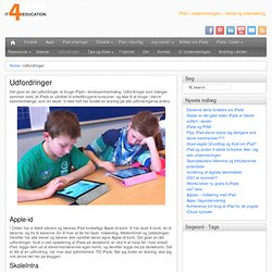 iPads i undervisningen | iPads 4 education
