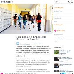 Skolinspektion tar kraft från skolornas verksamhet