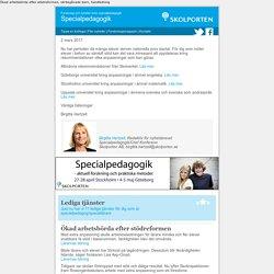 Skolportens specialpedagogiska nyhetsbrev