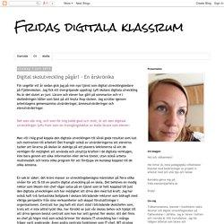 Digital skolutveckling pågår! - En årskrönika