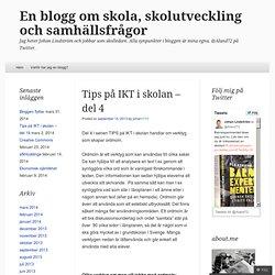 Tips på IKT del 4