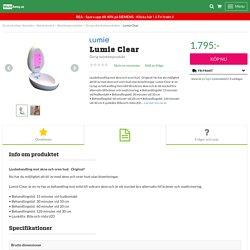 Startsida - Skönhetsvård - Skönhetsprodukter - Övriga skönhetsprodukter - Lumie Clear