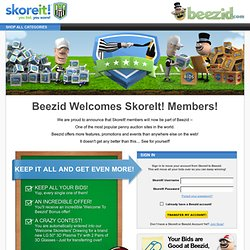 SkoreIt! ® You Bid. You Score!