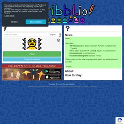 - Free Multiplayer Drawing & Guessing Game