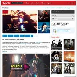 Skrillex – Free listening, videos, concerts, stats, & pictures at Last.fm