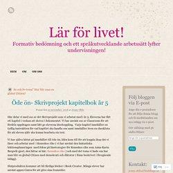 Öde ön- Skrivprojekt kapitelbok år 5