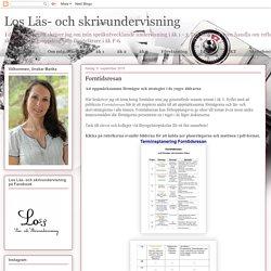 Los Läs- och skrivundervisning : Forntidsresan