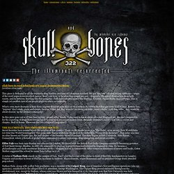: Skull & Bones: the Illuminati Resurrected :