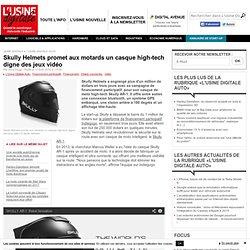 Skully Helmets promet aux motards un casque high-tech digne des jeux vidéo