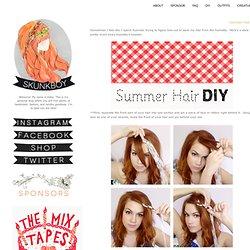 Summer Hair DIY