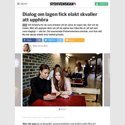 Dialog om lagen fick elakt skvaller att upphöra - Sydsvenskan