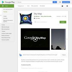 Sky Map - Aplicaciones en Google Play
