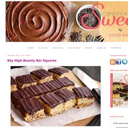 Sky High Bounty Bar Squares