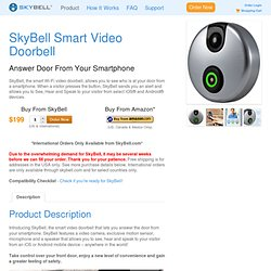 SkyBell - The Smart Wi-Fi Doorbell