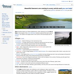 Skye travel guide