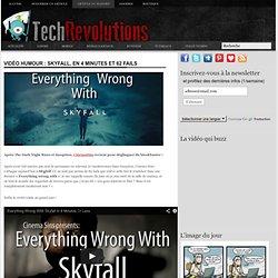 Vidéo Humour : Skyfall, en 4 minutes et 62 fails