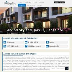 Arvind Skyland - New Residential Project - Jakkur Bangalore