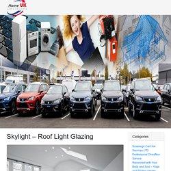 Skylight - Roof Light Glazing - Sky Glass LTD London