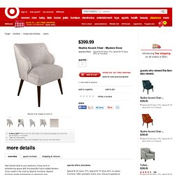 Skyline Accent Chair - Mystere Dove