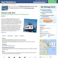 Chicago Skyline Lake Tours