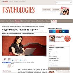Skype thérapie, l'avenir de la psy ?