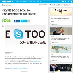 SKYPE TOOLBOX: 50+ Enhancements for Skype