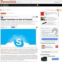 12/02/15 Skype Translator se met au français