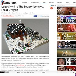 Lego Skyrim: The Dragonborn vs. Frost Dragon