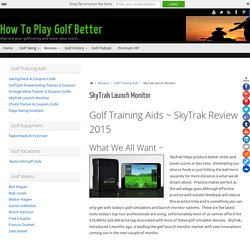 SkyTrak Launch Monitor and Golf Simulator Review