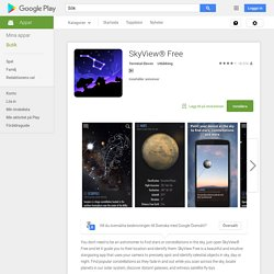 SkyView® Free – Android-appar på Google Play