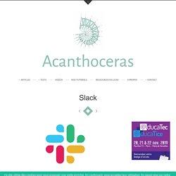 Slack - Acanthoceras