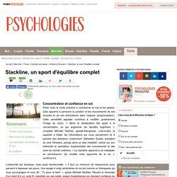 Slackline, un sport d'équilibre complet : Concentration et confiance en soi